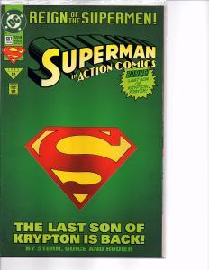 Dc Comics Action Comics #687 Collectors Set 1st app. Eradicator