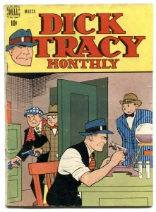 Dick Tracy #3 1948- Dell comics- Chester Gould VG