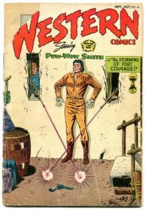 Western Comics #47 1954- Pow-Wow Smith- Nighthawk FAIR