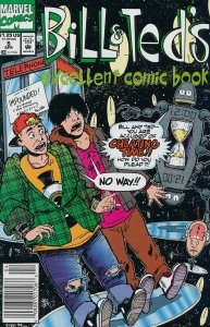 Bill And Ted's Excellent Comic Book #5 (Newsstand) FN; Marvel   save on shipping