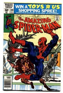 AMAZING SPIDER-MAN #209-comic book 1980-MARVEL