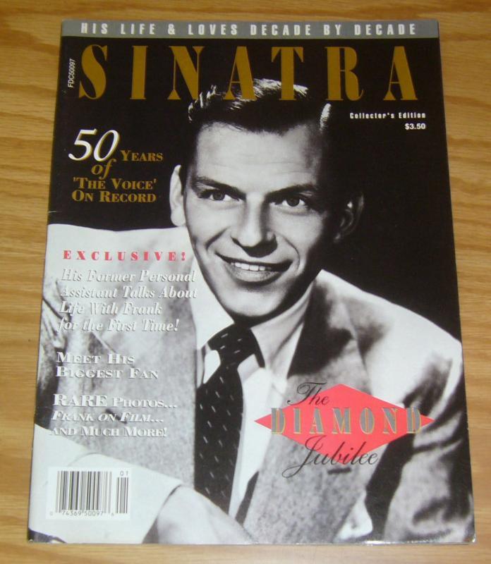 Frank Sinatra: 75th Diamond Jubilee #1 FN- tribute magazine from larry flynt