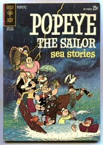 Popeye #66 1962- 1st Gold Key issue- Sea Stories FN