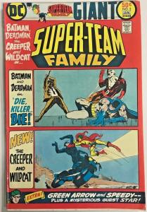 SUPER-TEAM FAMILY#2 VG/FN 1976 DC BRONZE AGE COMICS
