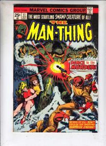 Man-Thing #11 (Dec-74) VF/NM+ High-Grade Man-Thing