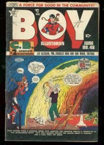 BOY COMICS #46 1949-CHARLES BIRO-BOB WOOD-MAURER FN-