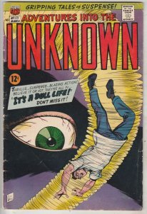 Adventures Into the Unknown #117 (Mar-67) FN/VF Mid-High-Grade