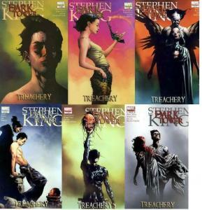 DARK TOWER TREACHERY (2008) 1-6  Stephen King