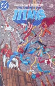 New Teen Titans (1984 series) #3, VF+ (Stock photo)