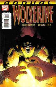 Wolverine (2003 series) Annual #1, VF+ (Stock photo)