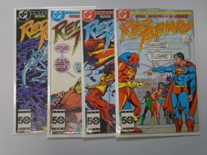 Red Tornado set #1 to #4 - see pics - 8.0 - 1985