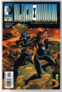 BLACK WIDOW #2, NM, J G Jones, Isty Bitsy Spider, 1999, more in store