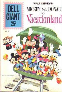 Dell Giant #47 (Aug-61) FN Mid-Grade Donald Duck, Uncle Scrooge, Huey, Dewey,...
