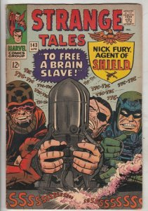 Strange Tales #143 (Apr-66) VG/FN+ Mid-Grade Nick Fury, S.H.I.E.L.D., Dr. Str...