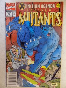 NEW MUTANTS # 96 LIEFELD HOT MOVIE