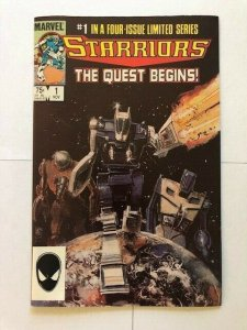 MARVEL STARRIORS The Quest Begins #1 1984 VERY FINE+ (PF960)