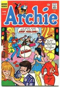 Archie Comics #191 1969- Silver Age-Betty & Veronica- VF
