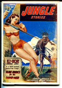 Jungle Stories 1970's-Hanos- reprint of Winter 1948 issue-pulp-FN