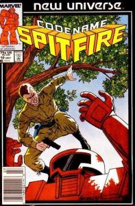 Codename Spitfire #10, VF (Stock photo)