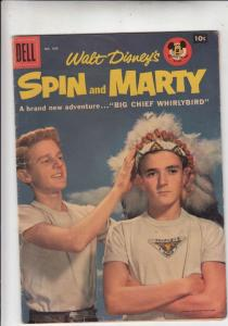 Four Color #808 (Aug-57) FN Mid-Grade Spin and Marty