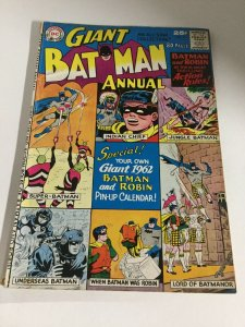 Batman Giant Annual 2 Gd Good 2.0 Hole Punched DC Comics Silver Age