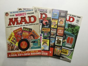 The Worst From Mad Annual 2 3 4 10 Very Good Vg 4.0 Entertaining Comics