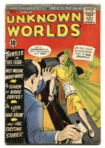 Unknown Worlds #6 1961- horror and sci-fi ACG comic book G