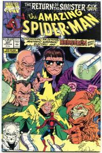AMAZING SPIDER-MAN #337 1990-MARVEL COMICS NM