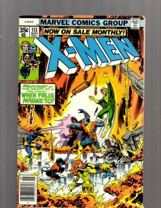 (Uncanny) X-Men # 113 NM- Marvel Comic Book Beast Angel Cyclops Magneto SM19