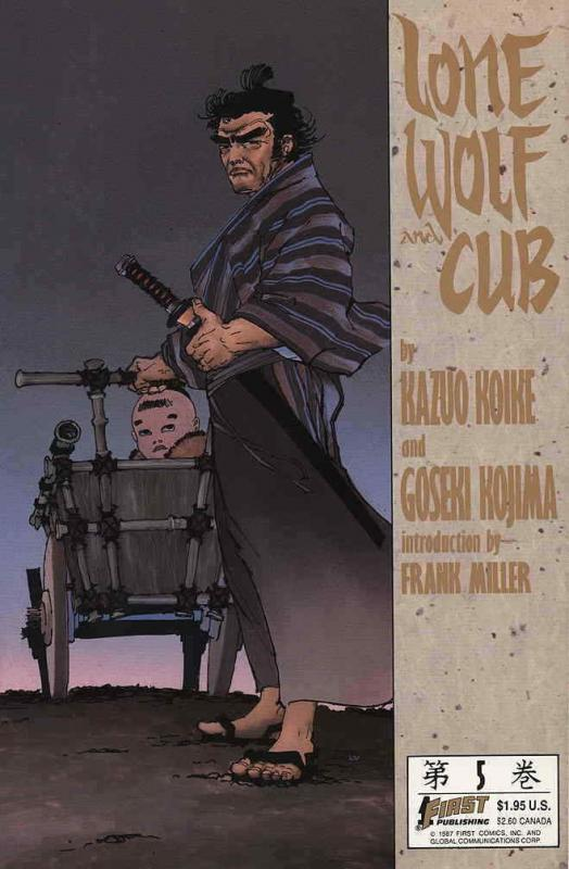 Lone Wolf and Cub #5 VF/NM; First | save on shipping - details inside