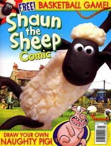 Shaun the Sheep Comic #5 VF; Titan | save on shipping - details inside