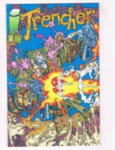Trencher #1 VF/NM Image Comics Comic Book Giffen May 1993  DE44