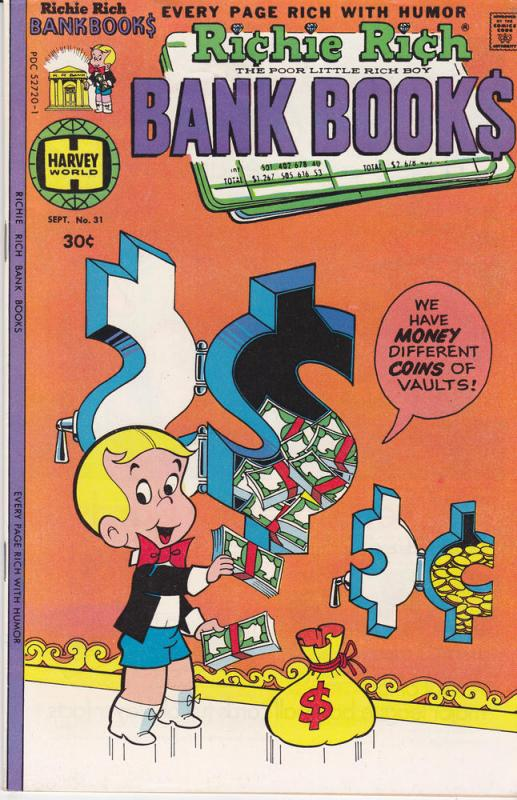 Richie Rich Bank Books #31