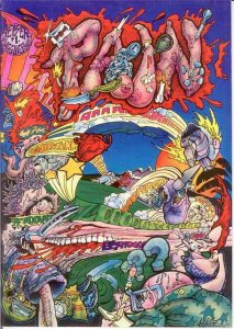 PAIN (1977 BAGGINER) 1 VG-F Geiser COMICS BOOK