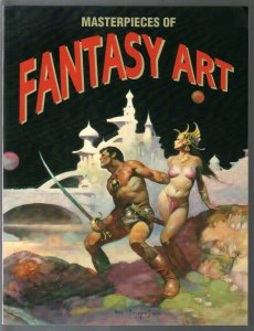 Masterpieces of Fantasy Art 1981-Taschen-Frank Frazetta-Kelly Freas-Boris Vallej