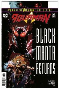Aquaman #50 Main Cvr | Black Manta (DC, 2019) NM