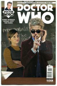 DOCTOR WHO #3 B, NM, 12th, Tardis, 2016, Titan, 1st, more DW in store, Sci-fi