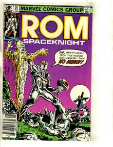 Lot of 7 Rom Marvel Comics # 36 37 39 40 41 42 43 EK4