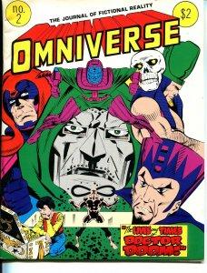 Omniverse #2 1979-Avengers-Dr Doom-Superman -DC-Marvel-VG/FN