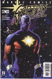 Captain Marvel Vol 2 #32
