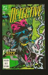 DC Comics Detective Comics Electric City No 646 July 1992