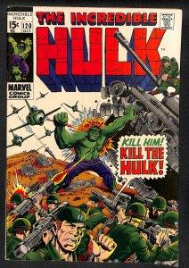 The Incredible Hulk #120 (1969)