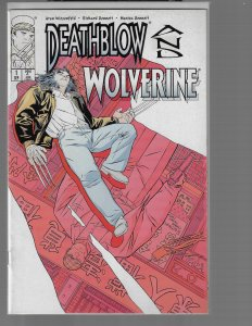 Deathblow and Wolverine #1 (Image, 1996)