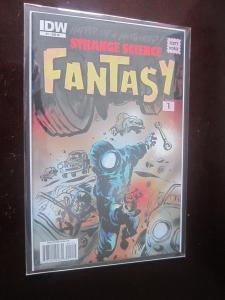 Strange Science Fantasy #1 B - 9.4? in Mylar sleeve sharp corners unread - 2010