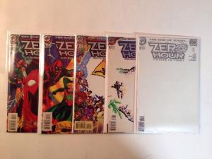 Zero Hour 0 1-4 Complete VF/NM Lot Set Run