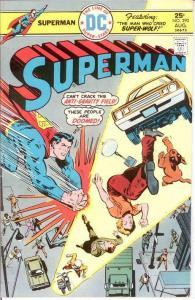 SUPERMAN 290 F-VF  August 1975 COMICS BOOK