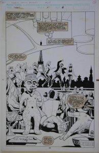 PAUL GULACY / MARTIN original art, MARVEL COMICS PRESENTS #68 pg 14,11x17, Ju-Ju