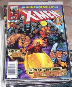 Uncanny X-Men #363 (Jan 1999, Marvel) hunt for xavier pt 3 brotherhood wolverin