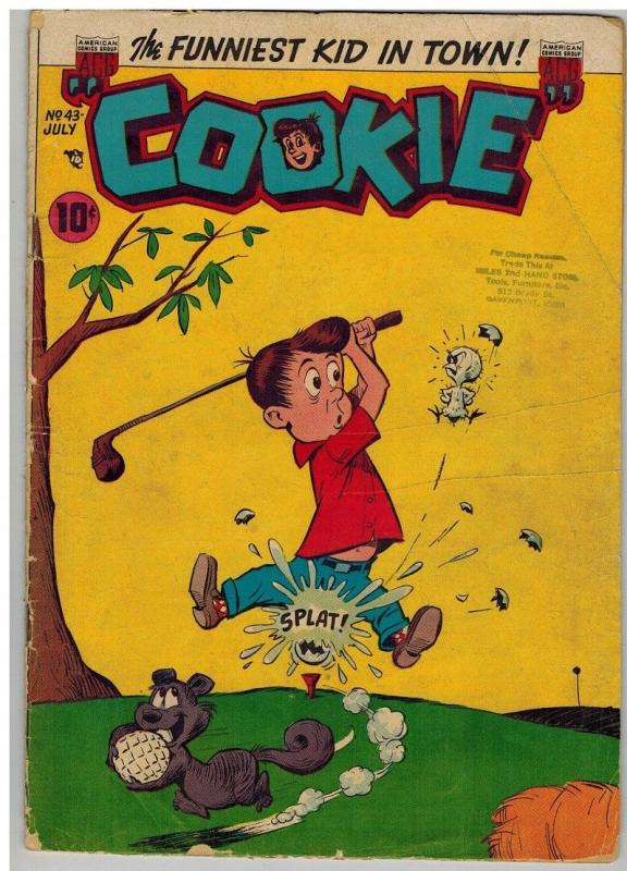 COOKIE 43 FR-G July 1953