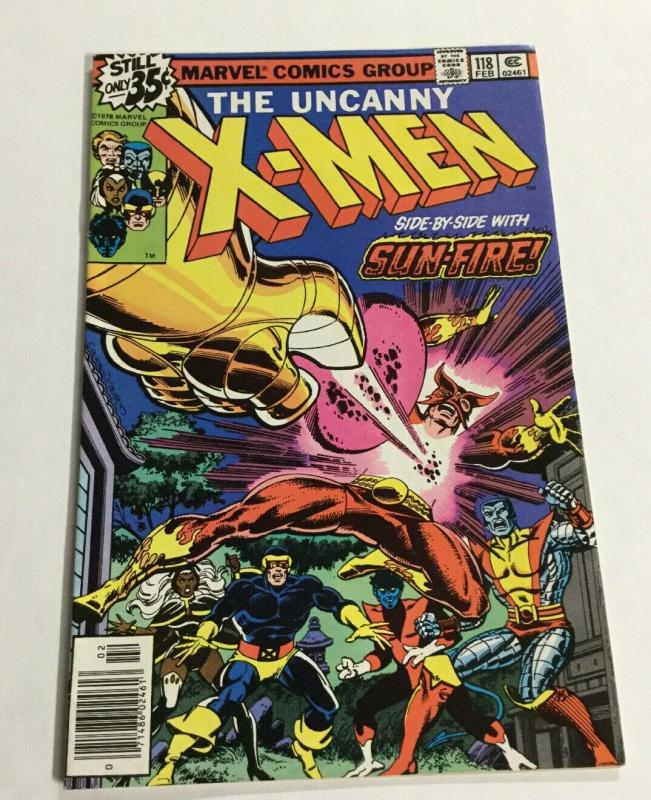 X-Men 118 Vf- Very Fine- 7.5 Marvel